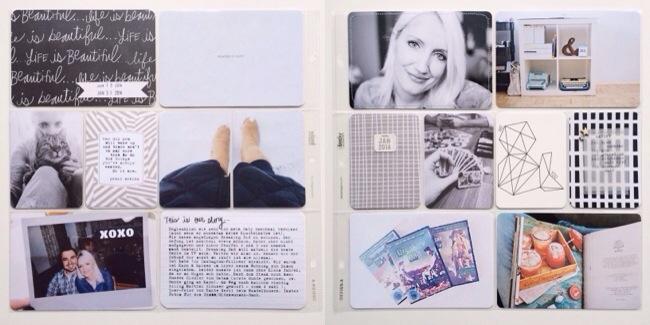Project Life 2014 #2 schnipseldesign studio calico sunshine edition.jpg
