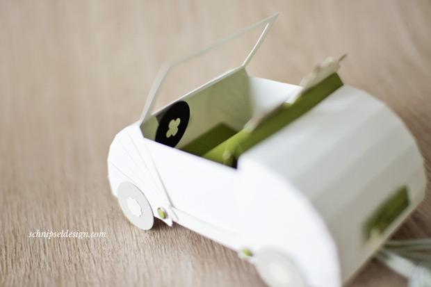 Ein Hochzeitsauto Fur S Brautpaar Schnipseldesign