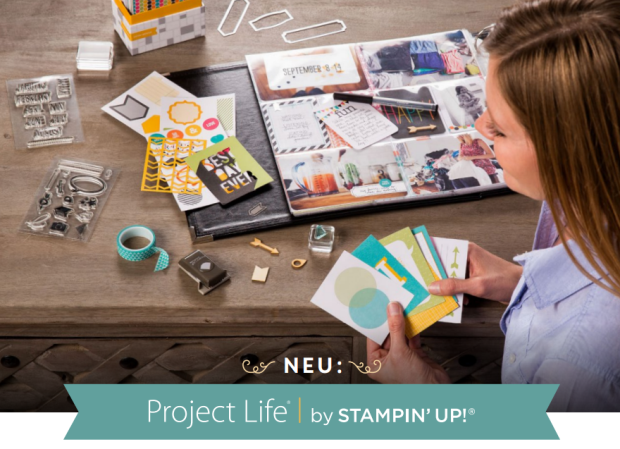 project life by stampin up schnipseldesign