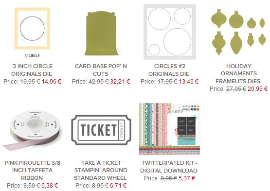 Stampin Up Angebote der Woche 0406 bis 1006 schnipseldesign