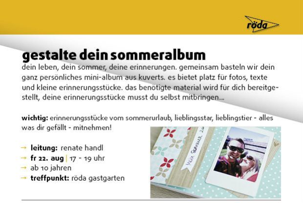 Mini-Album Workshop Steyr schnipseldesign