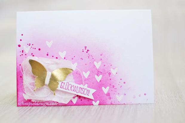 Stampin-up-Karte-Spruch-reif-Gorgeous-Grunge-Stanze-Eleganter-Schmetterling-Goldfolie-Wassermelone-schnipseldesign-osterreich-1