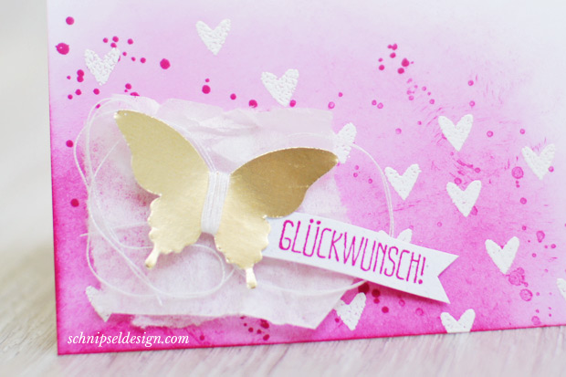 Stampin-up-Karte-Spruch-reif-Gorgeous-Grunge-Stanze-Eleganter-Schmetterling-Goldfolie-Wassermelone-schnipseldesign-osterreich-2