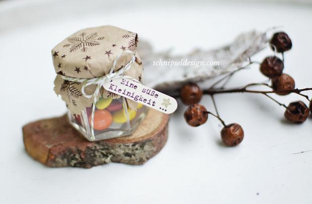 stampin-up-dezembertage-schokobraun-spruch-reif-einmachglas-geschenk-packpapier-weihnachten-schnipseldesign-1