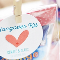 Hangover Kits - Gastgeschenke