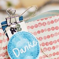 Verpackung für Raffaello -  BlogHop Stempelherz