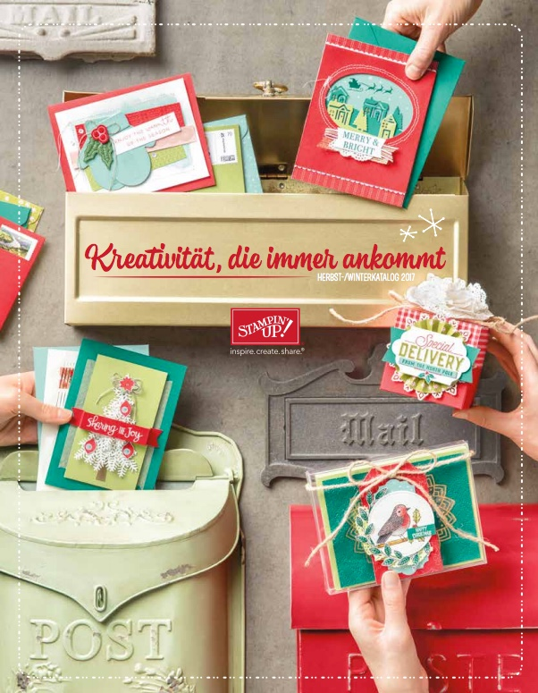 Herbst Winter 2017 Stampin UP schnipseldesign
