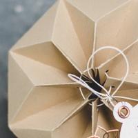 Geschenke für Weihnachten #2 - Origami-Sternenbox